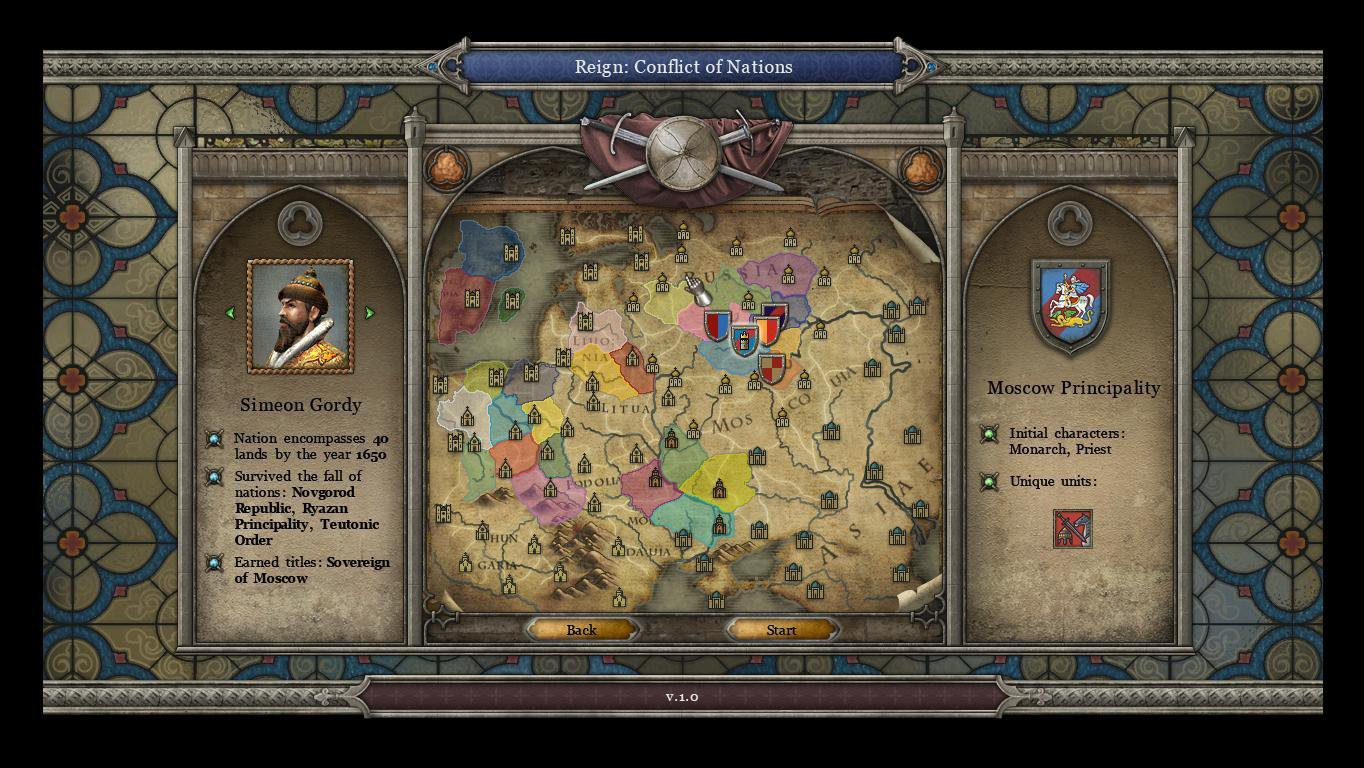 Reign Conflict of Nations 3