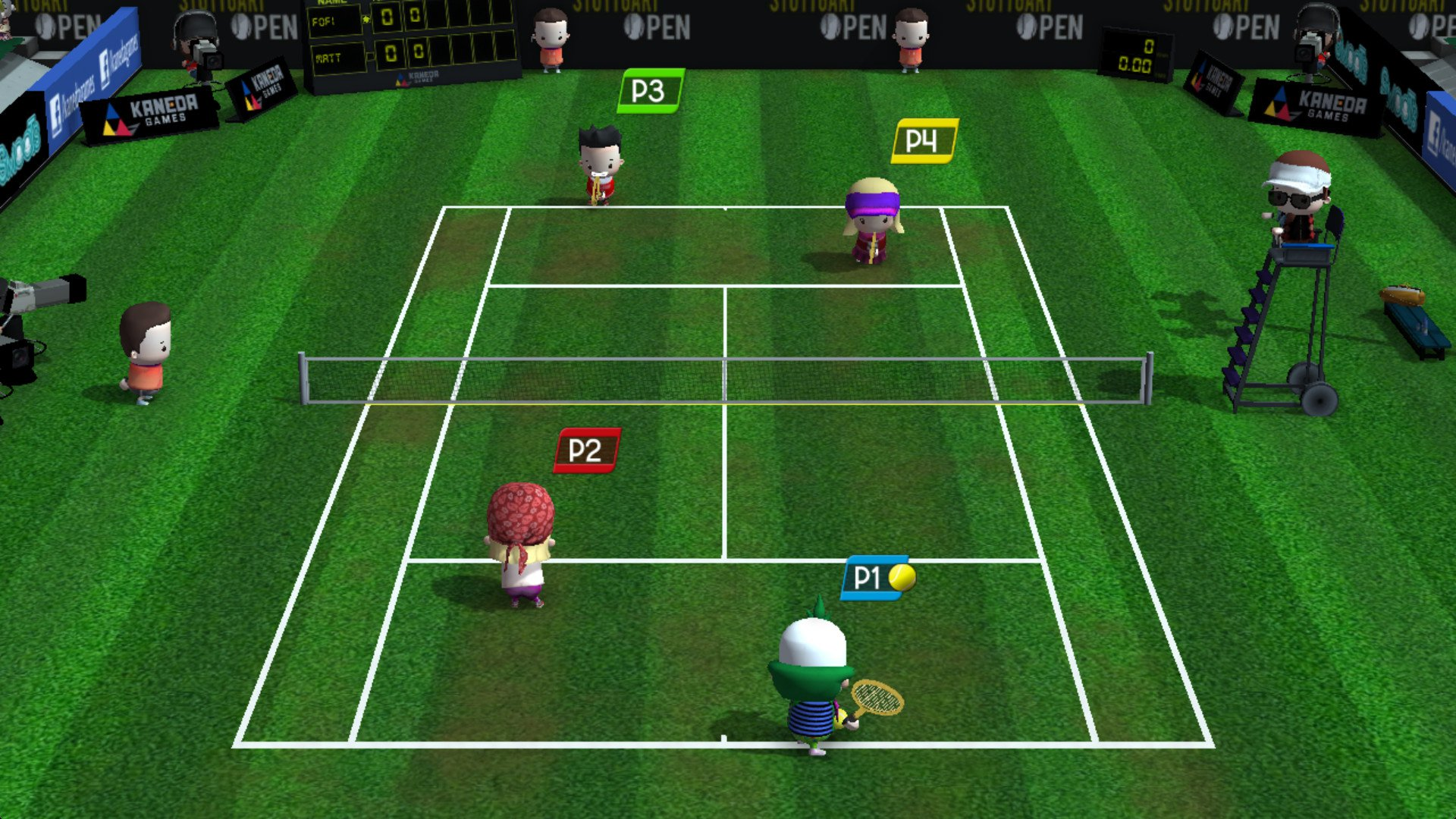 Smoots World Cup Tennis 10