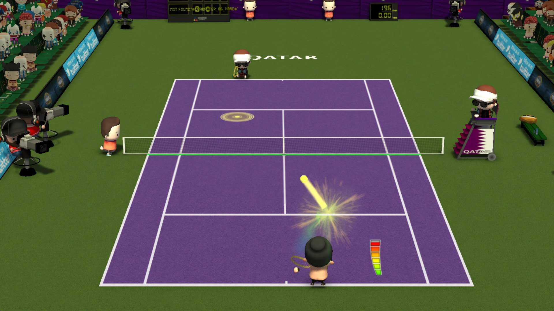 Smoots World Cup Tennis 8