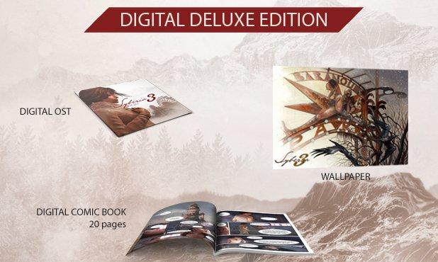 Syberia 3 Deluxe Edition 1
