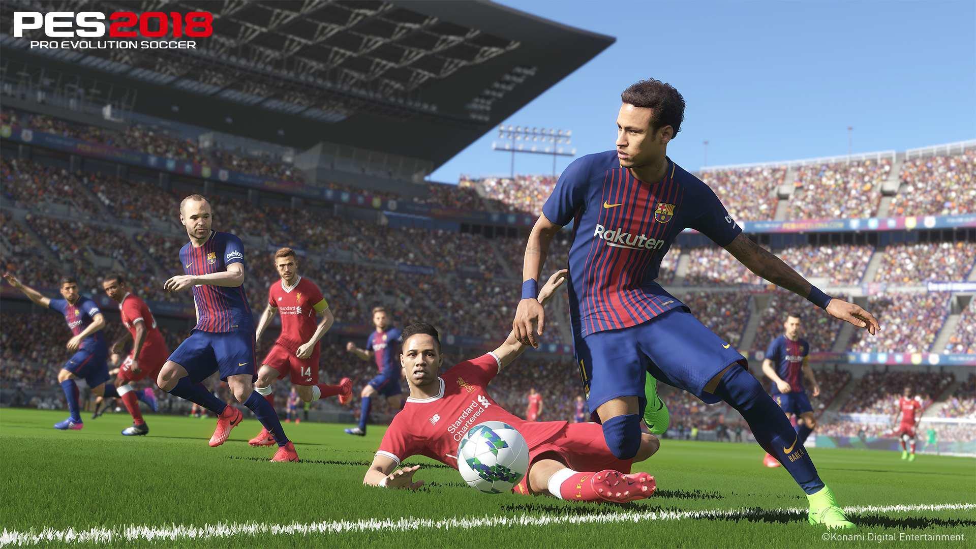 Pro Evolution Soccer 2018 Barcelona Edition   PES 2018 10