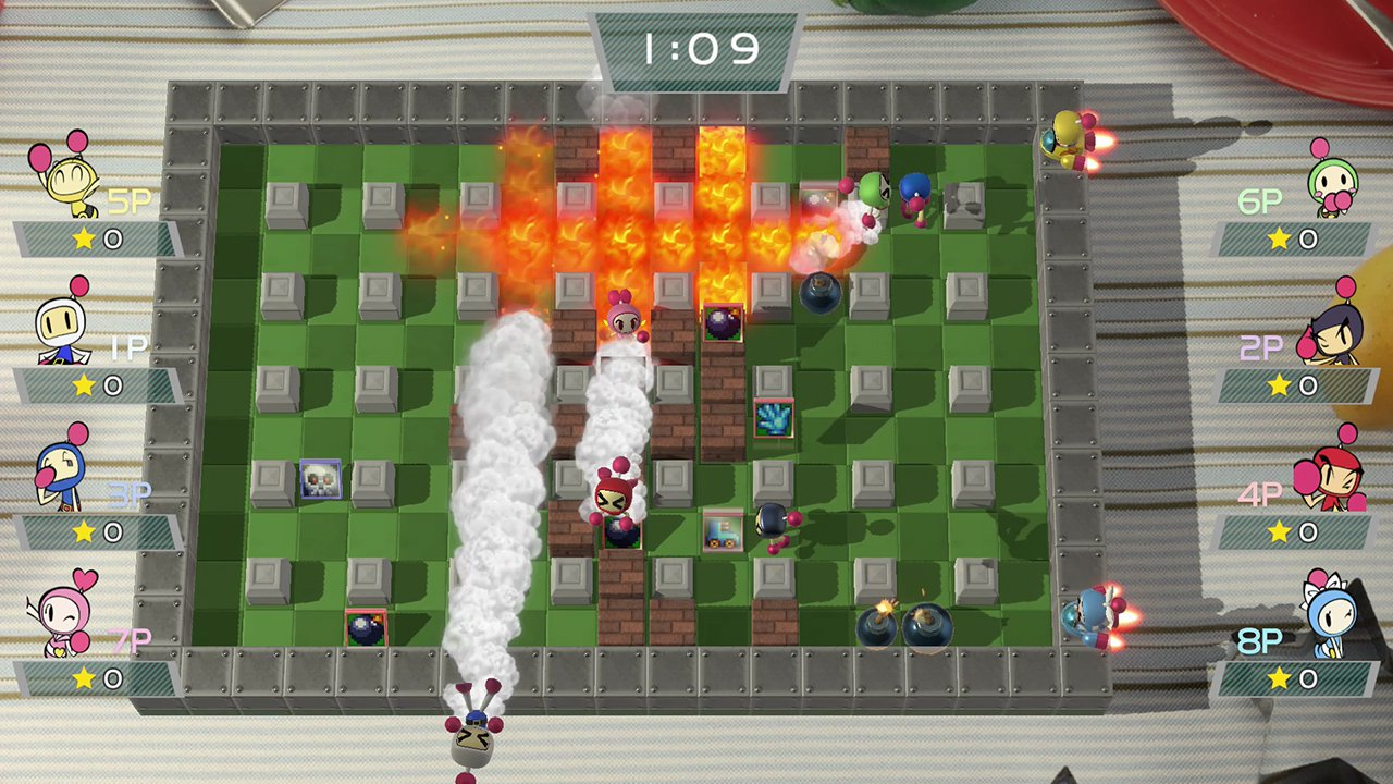 Super Bomberman R 19