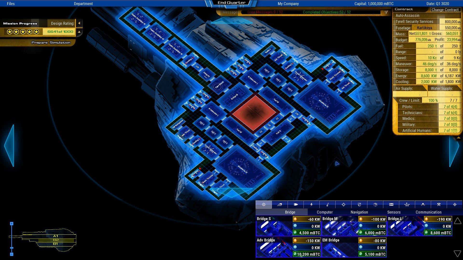 Starship Corporation 1