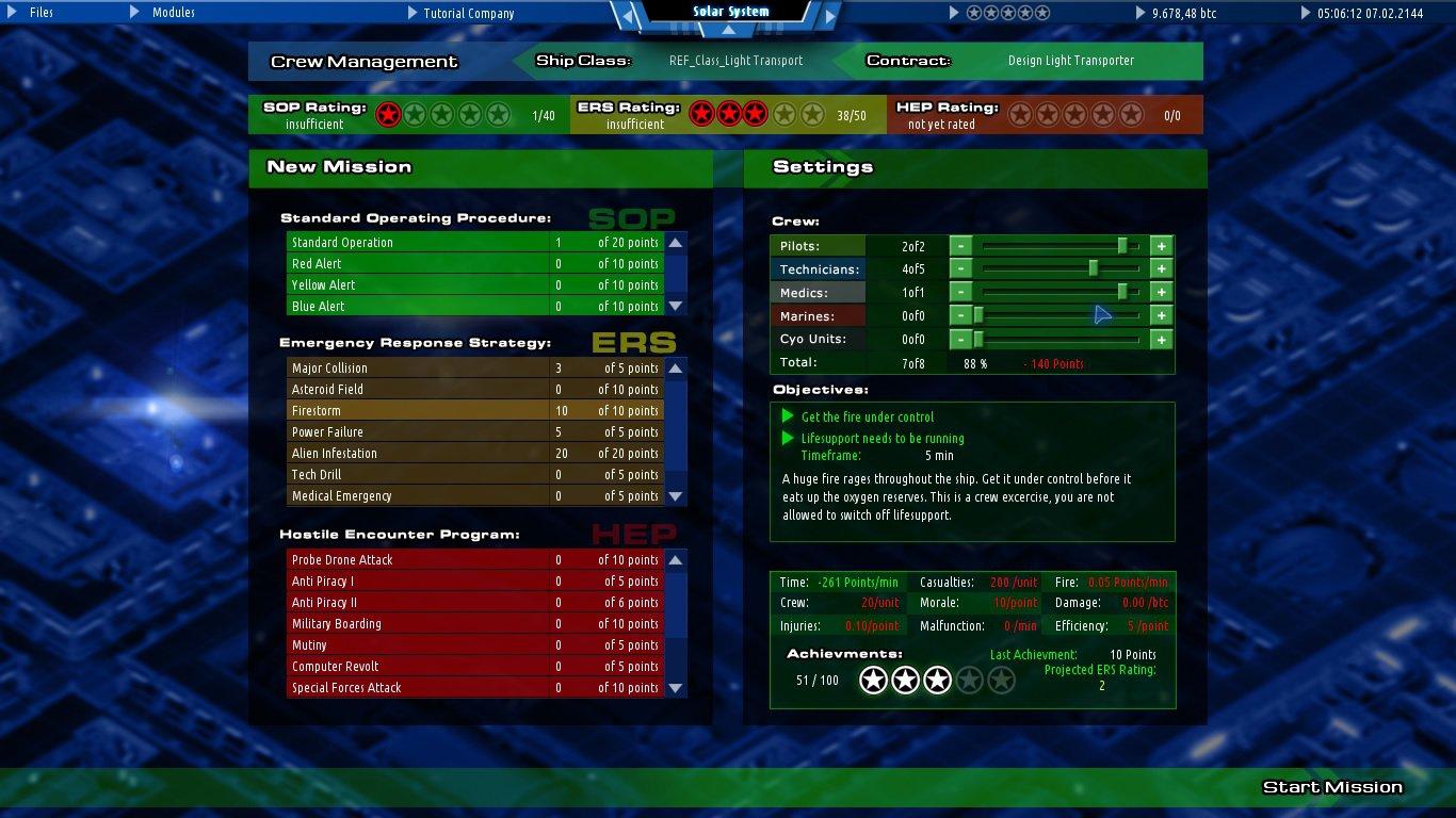 Starship Corporation 11
