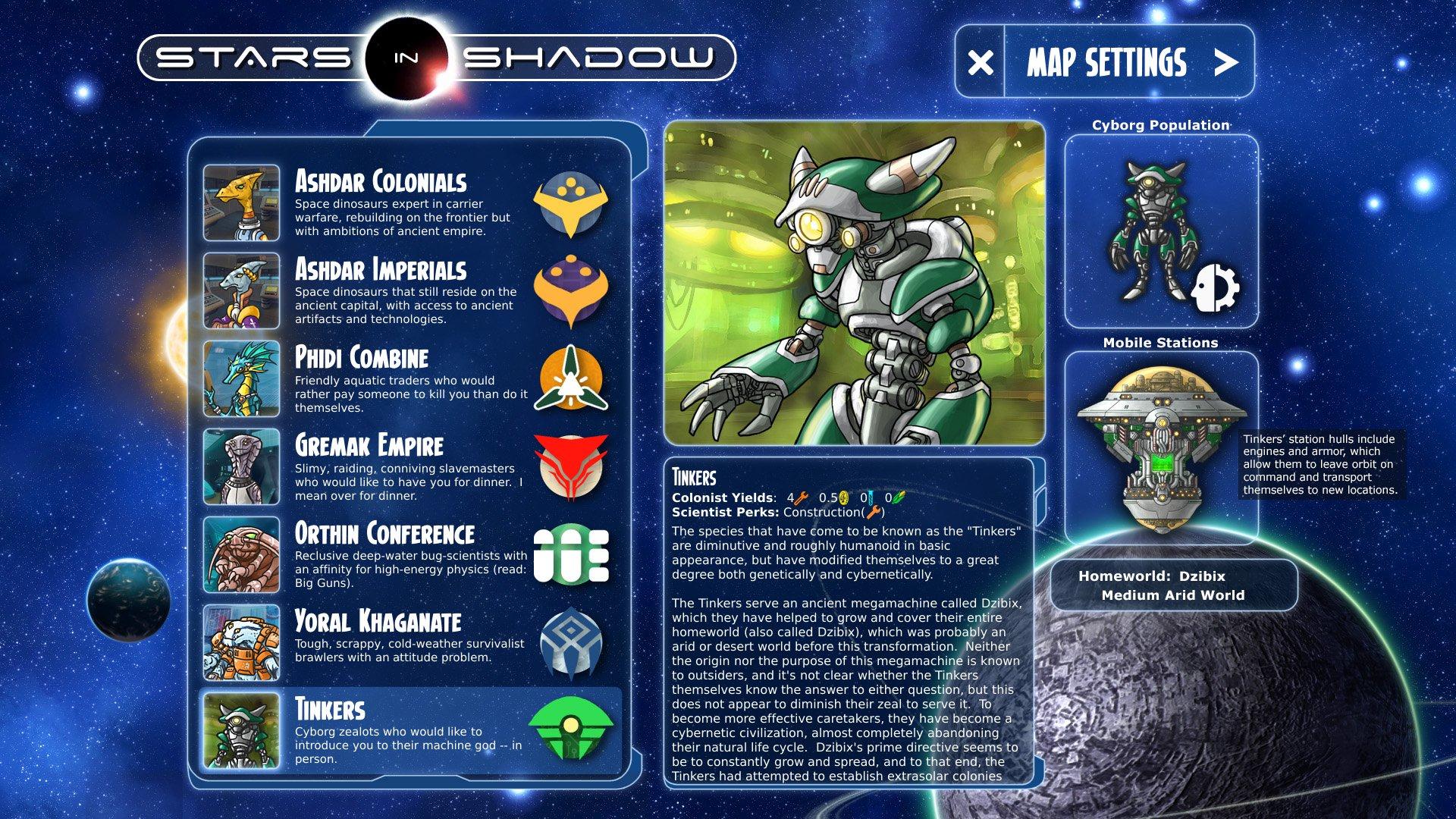 Stars in Shadow Legacies DLC 1