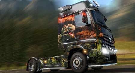 Euro Truck Simulátor 2 Prehistoric Paint Jobs 1