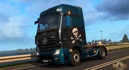 Euro Truck Simulátor 2 Pirate Paint Jobs Pack 1