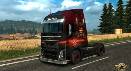 Euro Truck Simulátor 2 Pirate Paint Jobs Pack 4