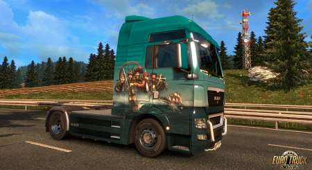 Euro Truck Simulátor 2 Pirate Paint Jobs Pack 5