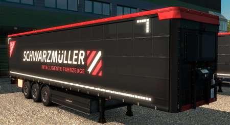 Euro Truck Simulátor 2 Schwarzmüller Trailer Pack DLC 1