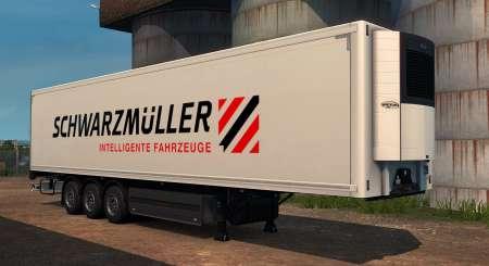 Euro Truck Simulátor 2 Schwarzmüller Trailer Pack DLC 2