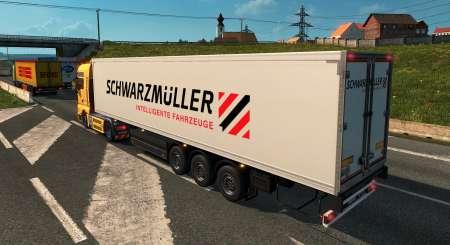 Euro Truck Simulátor 2 Schwarzmüller Trailer Pack DLC 6