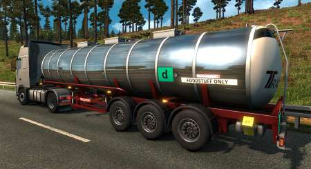 Euro Truck Simulátor 2 Schwarzmüller Trailer Pack DLC 8