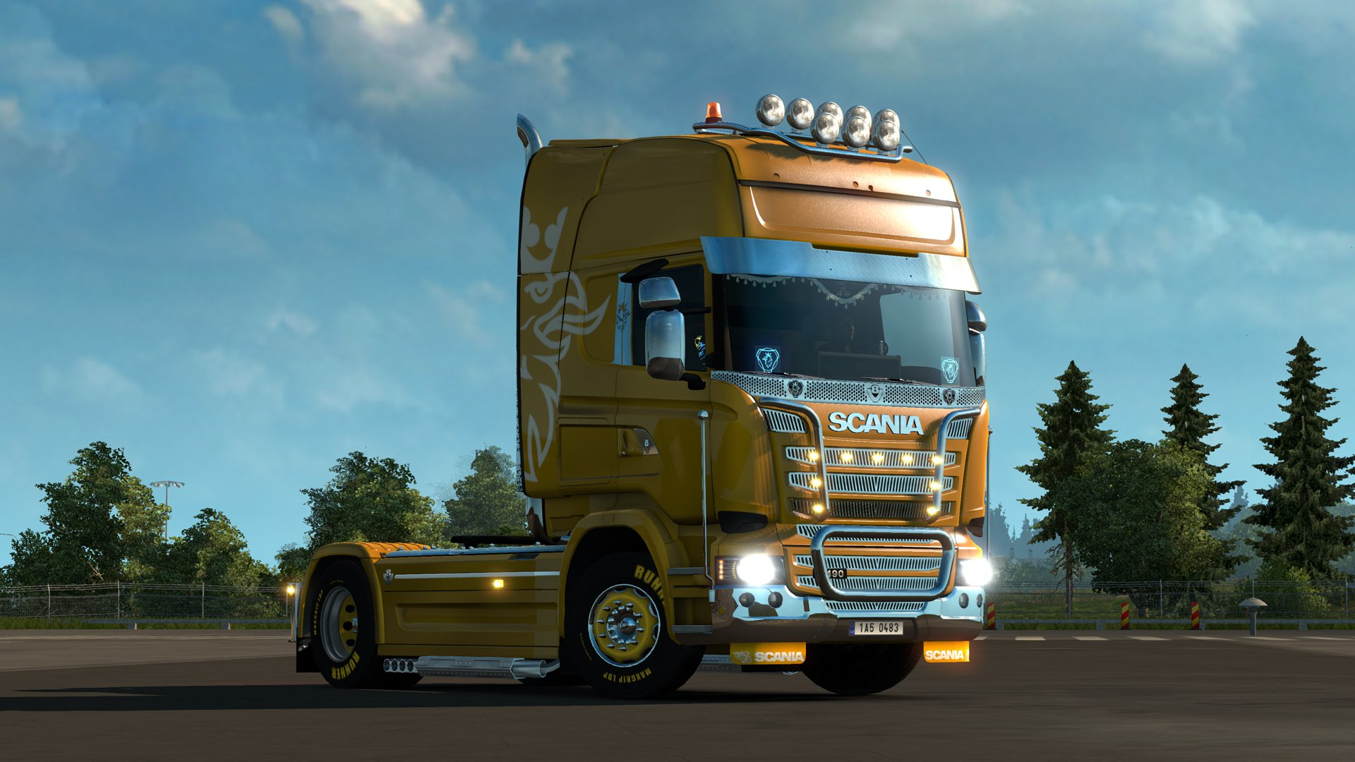 Euro Truck Simulator 2 Mighty Griffin Tuning Pack DLC 16
