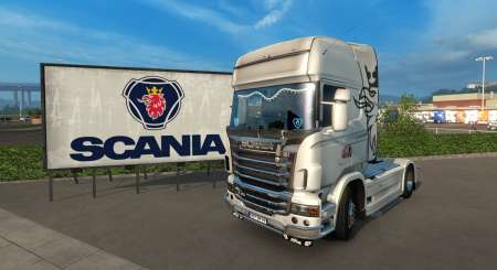 Euro Truck Simulator 2 Mighty Griffin Tuning Pack DLC 1