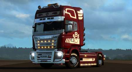 Euro Truck Simulator 2 Mighty Griffin Tuning Pack DLC 10