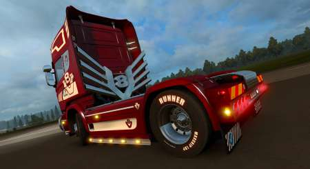 Euro Truck Simulator 2 Mighty Griffin Tuning Pack DLC 4
