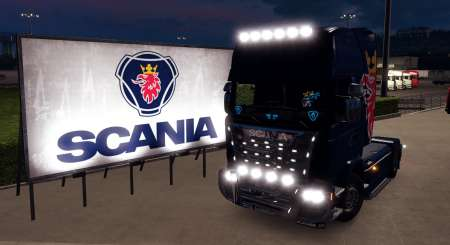 Euro Truck Simulator 2 Mighty Griffin Tuning Pack DLC 9