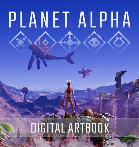 PLANET ALPHA Digital Artbook 1