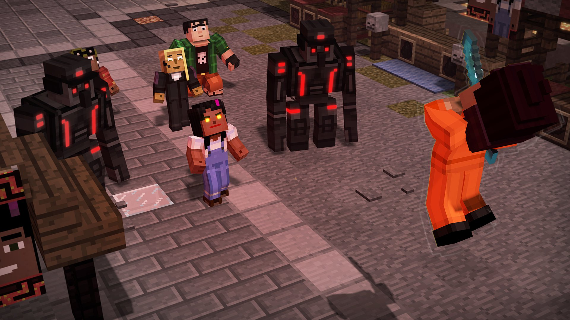 Minecraft Storymode Season Two Telltale Series 1
