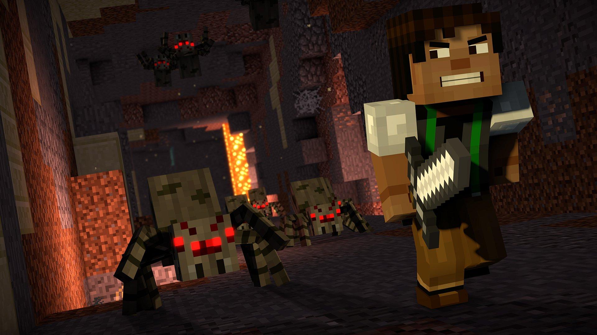 Minecraft Storymode Season Two Telltale Series 9
