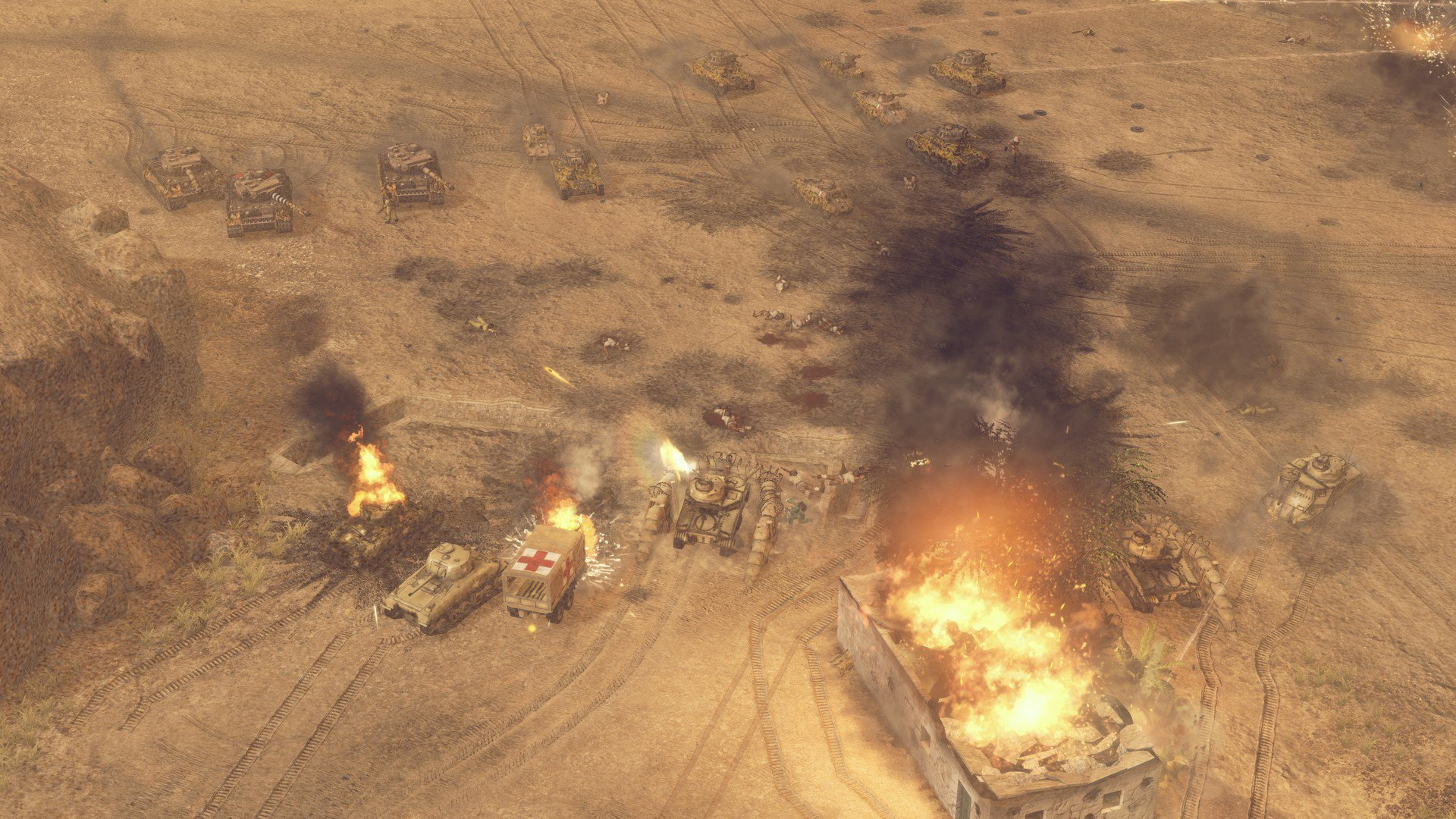 Sudden Strike 4 Africa Desert War 12