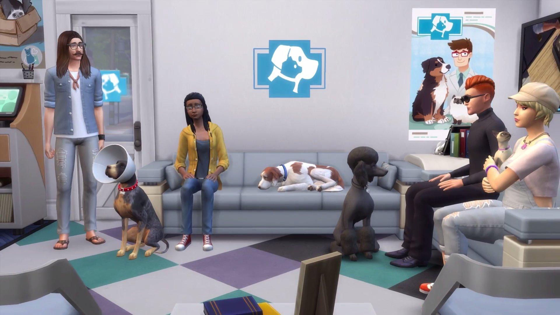 The Sims 4 Psi a kočky 3