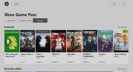 Xbox Game Pass 3 měsíce 4