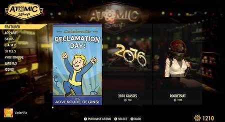 Fallout 76 2000+400 Atoms 1