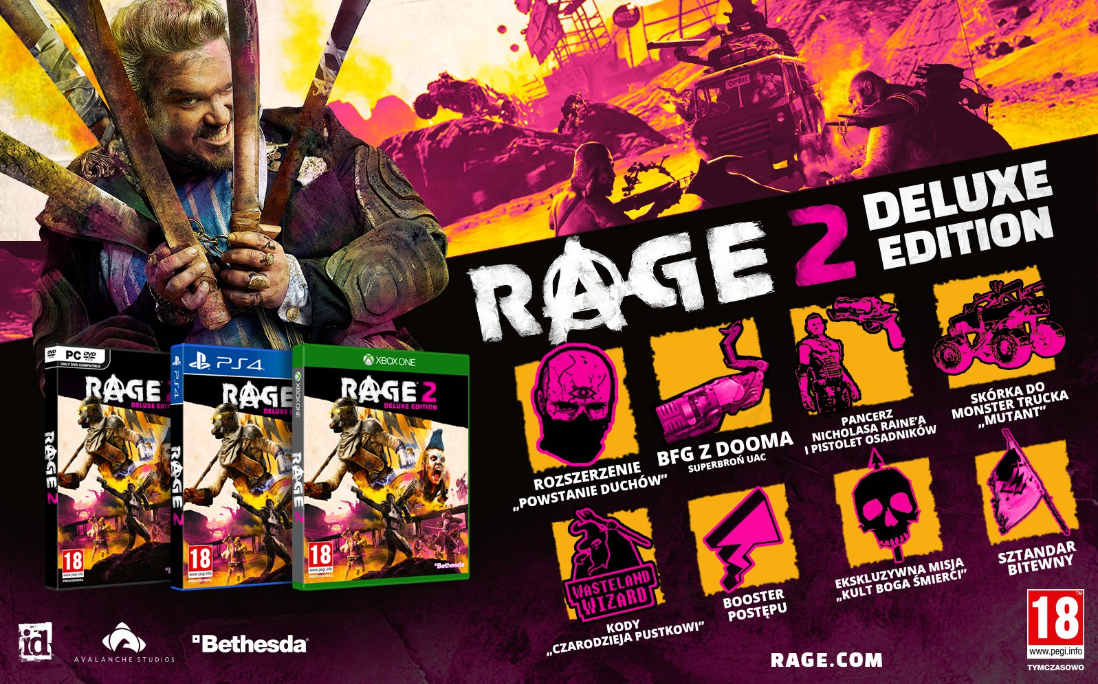 Rage 2 Deluxe Edition 1