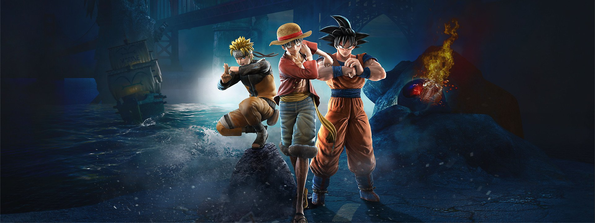 Jump Force Characters Pass 1