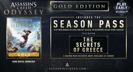 Assassins Creed Odyssey Gold Edition Xbox One 1