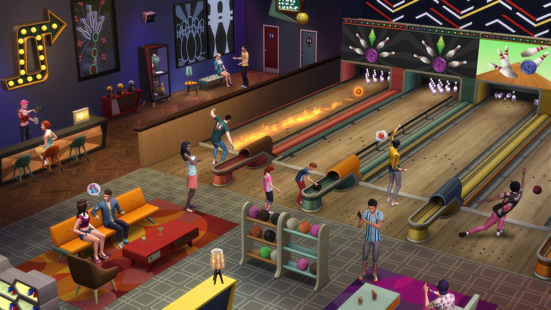 The Sims 4 Bowlingový večer 3