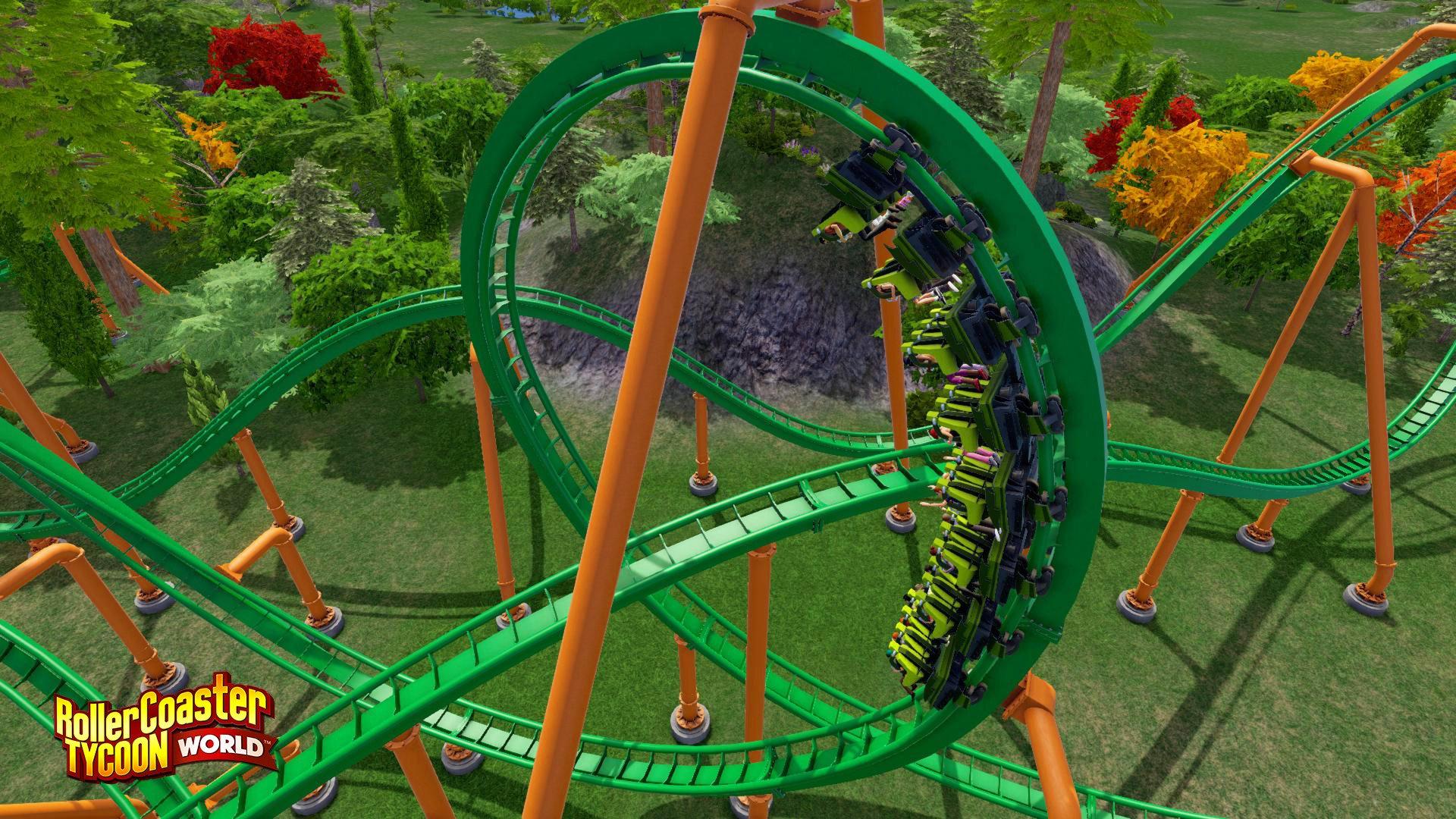 RollerCoaster Tycoon World 8