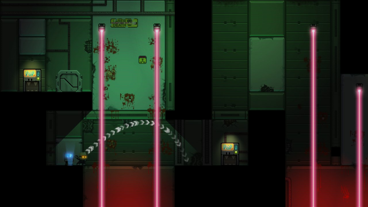 Stealth Bastard Deluxe The Teleporter Chambers 10