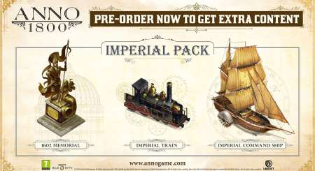 Anno 1800 Imperial Pack 1