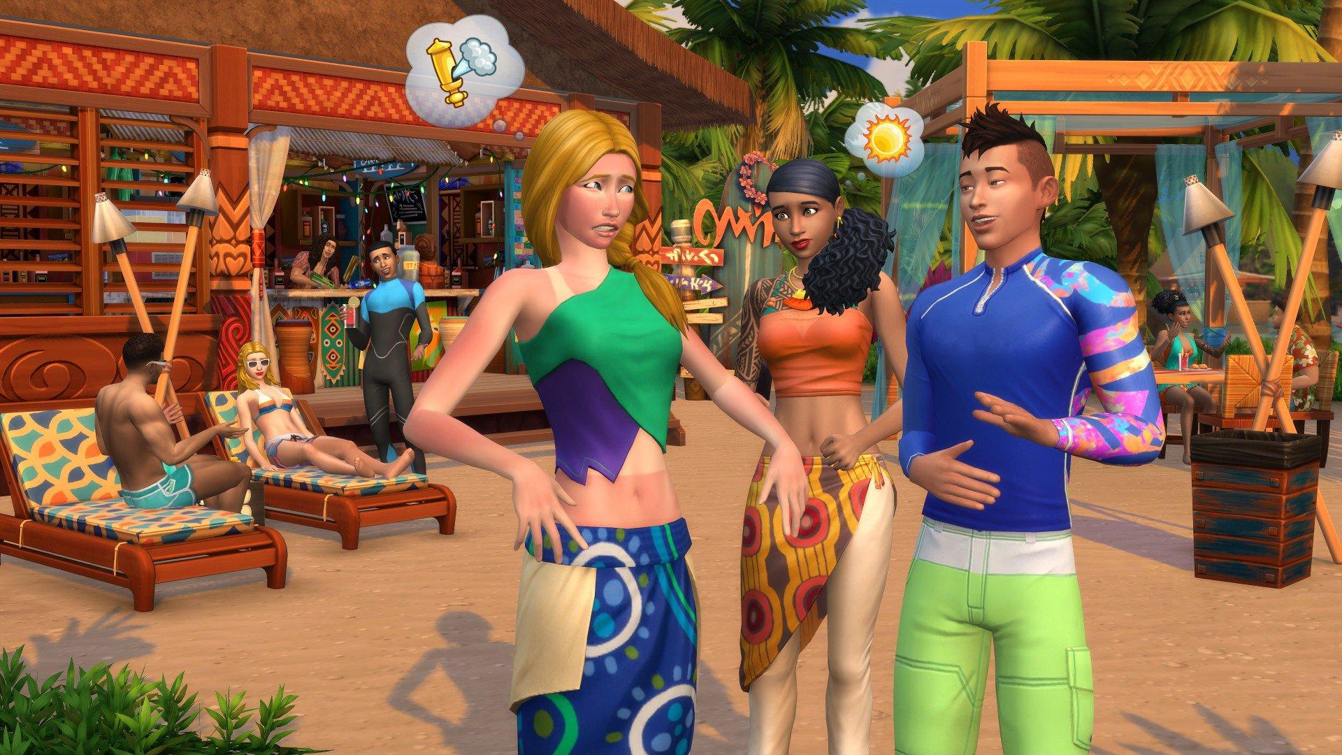 The Sims 4 ŽIvot na ostrově 4