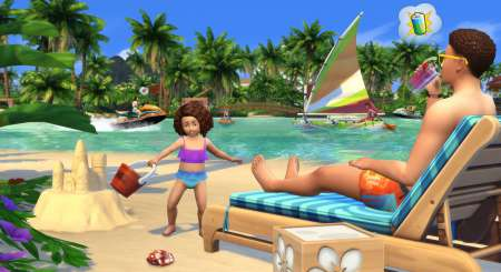 The Sims 4 ŽIvot na ostrově 3