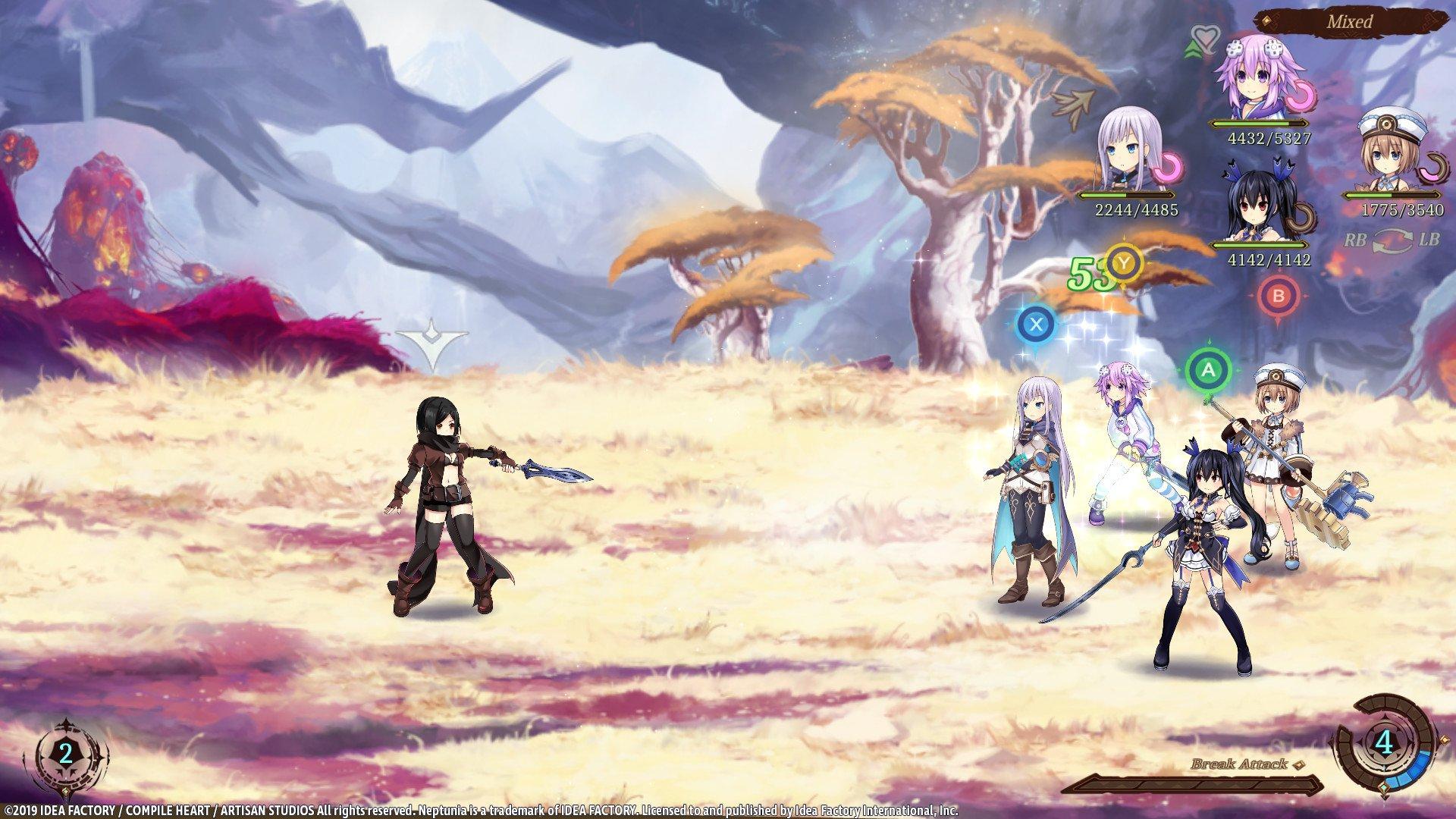 Super Neptunia RPG 8