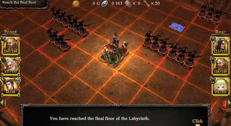 Wizrogue Labyrinth of Wizardry 2