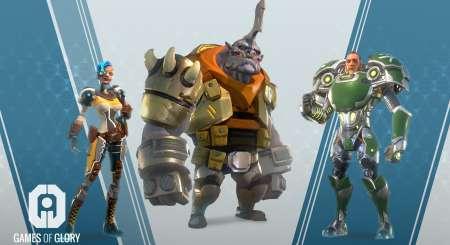 Games Of Glory Gladiators Pack 4
