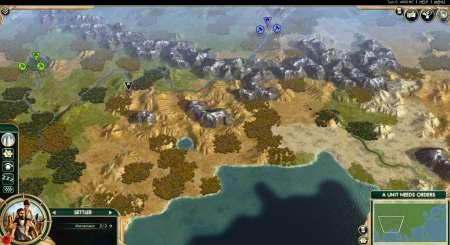Sid Meiers Civilization V Scrambled Continents Map Pack 1