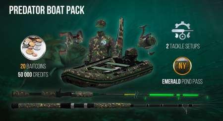 The Fisherman Fishing Planet Predator Boat Pack 1