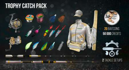 The Fisherman Fishing Planet Trophy Catch Pack 4