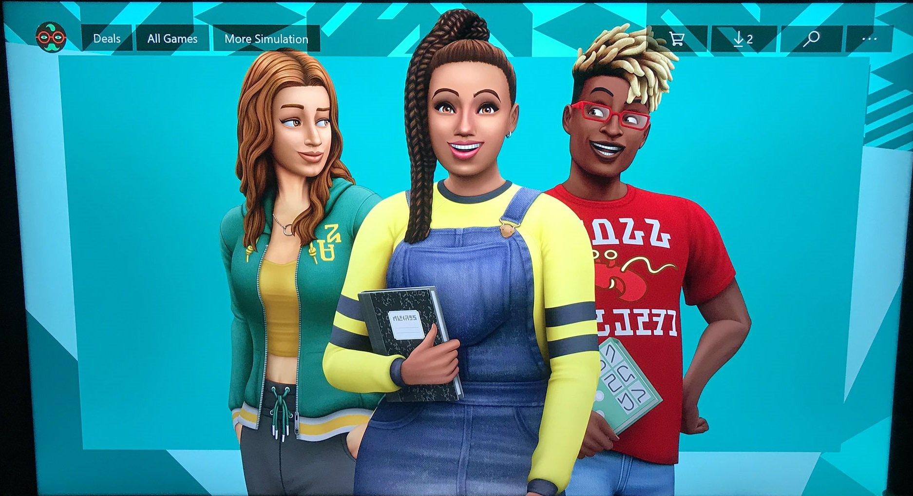 The Sims 4 Hurá na vysokou 1
