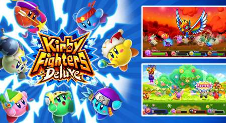 Kirby Fighters Deluxe 1