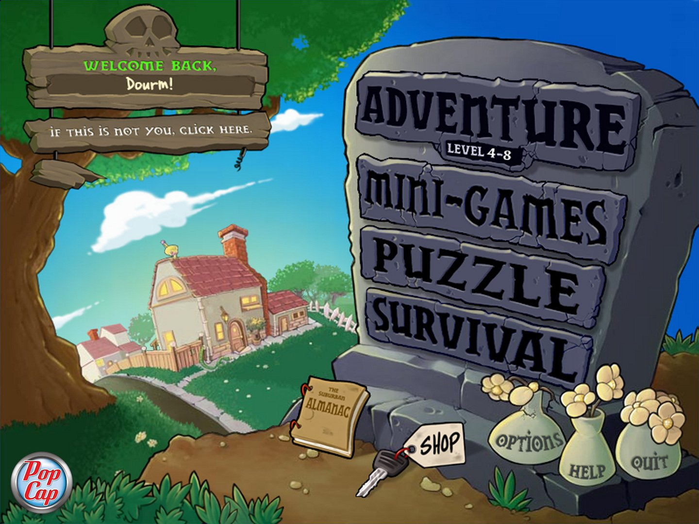 Plants Vs Zombies Game of the Year Edition 2