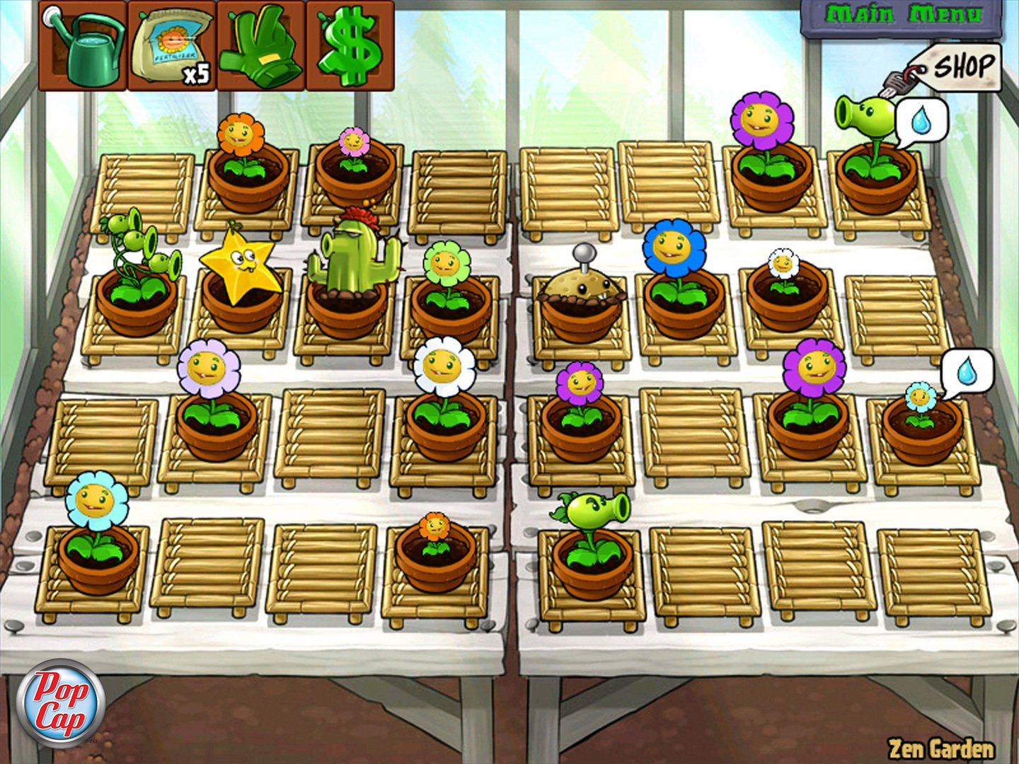 Plants Vs Zombies Game of the Year Edition 4