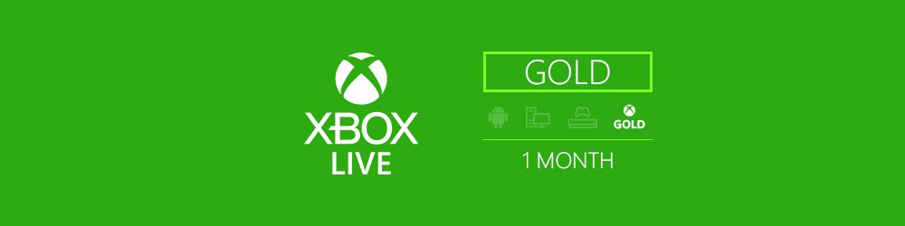 Xbox Live Gold 1m EU,US banner