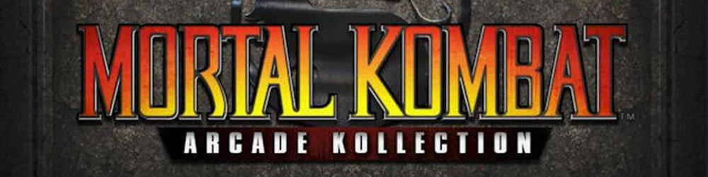 Mortal Kombat Arcade Kollection banner